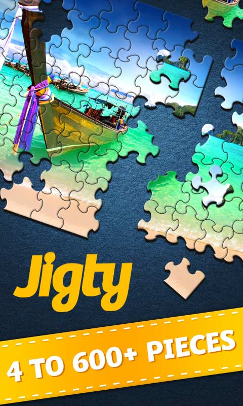 Outfit7 - Jigty Jigsaw Puzzles