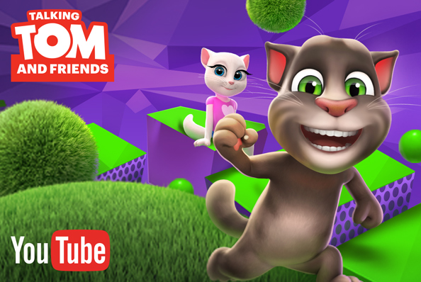 TALKING TOM AND FRIENDS ANIMATED SERIES NOW IN HINDI!