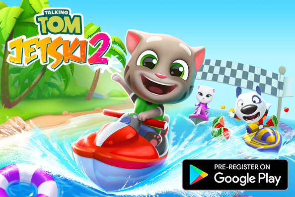 PRE-REGISTER NOW FOR TALKING TOM JETSKI 2!